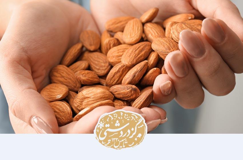 خواص بادام زیاد است و یکی از انواع آن بادام ایرانی است.