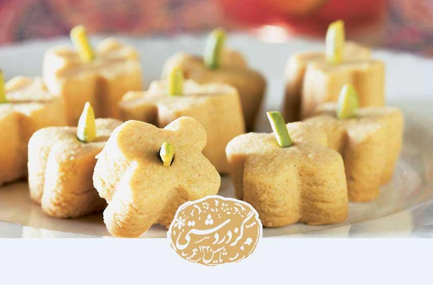 تعدادی نان نخودچی
